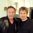 Steve G. Jones with Danny Bonaduce