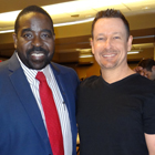 Steve G. Jones with Les Brown of The Secret
