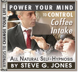CD or MP3 to Power Your Mind to Control Coffee Intake