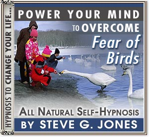 CD or MP3 to Power Your Mind to Overcome Fear of Birds