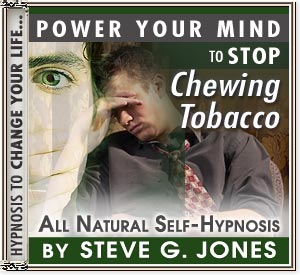 CD or MP3 to Power Your Mind to Stop Chewing Tobacco