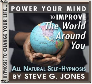 Hypnosis CD or MP3 to Power Your Mind to Improve the World Around You