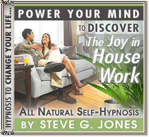 CD or MP3 to Power Your Mind to Discover the Joy In Housework