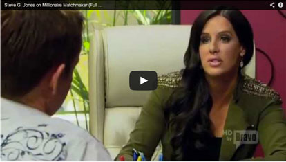 Steve G. Jones on Millionaire Matchmaker (Full Version) VIDEO
