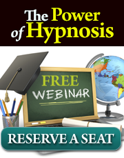 FREE hypnosis webinar by Steve G. Jones Ed.D.